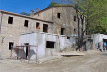 "A magic ""borgo"" with ancient cross vaults and 1 hectare of land."