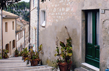 Apartment in the most traditional  part of the village, right along the steps declining to the small port. .