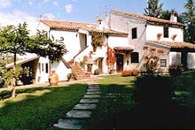 Enchanting farmhouse surrounded by Nature with vineyard, olive grove and walnut trees.
