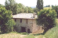 An old mill discovered by Pam and rebuilt to make a dream come true in the Marche tranquillity.