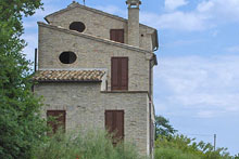 Completely restored farm house boasting a beautiful view on the sea that washes Riviera delle Palme.